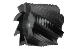 MAYKESTAG HSS-ECo5 Walzenstirnfräser (30° Z=8-12) DIN 1880 HR ALUNIT 40.0 – 100.0 mm