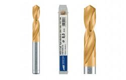 MAYKESTAG HSS-ECo5 TiN Spiralbohrer DIN 1897 PZ, extra kurz 2.0 – 13.0 mm