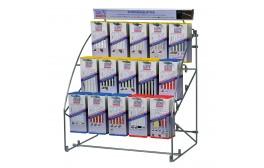 WILPU Hängemodul mit je 5 x 15 Sorten Stichsägeblätter für Holz, Metall (5 x 15 Stück)