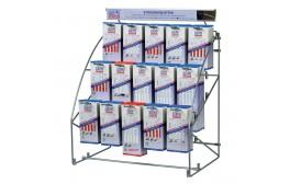 WILPU Hängemodul mit je 5 x 15 Sorten Stichsägeblätter für Metall (5 x 15 Stück)
