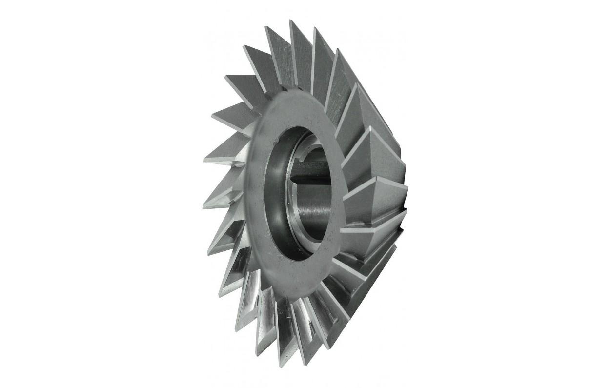 25mm x 10mm Angle Milling Cutter 60Deg HSS #2246A