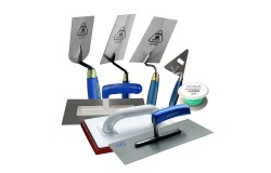 JUNG 8-piece brick trowel starter set