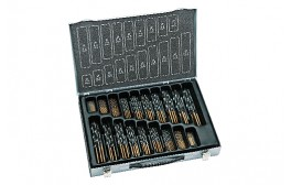 alpen KM 170 HSS Sprint Master jobber drills DIN 338 RN set of 170 pcs. 1.0 – 10.0 mm