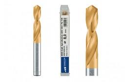 MAYKESTAG HSS-ECo5 TiN stub drill DIN 1897 PZ, extra short 2.0 – 13.0 mm