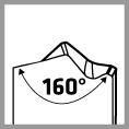 Bohrerspitze mit 160° Winkel