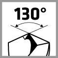 alpen Spiralbohrer mit 130° Spitzenwinkel