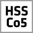 HSS Kobalt Zerspanungswerkzeuge