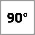 Countersink 90° angle