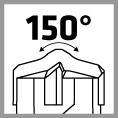 alpen SDS-Plus drill angle 150°
